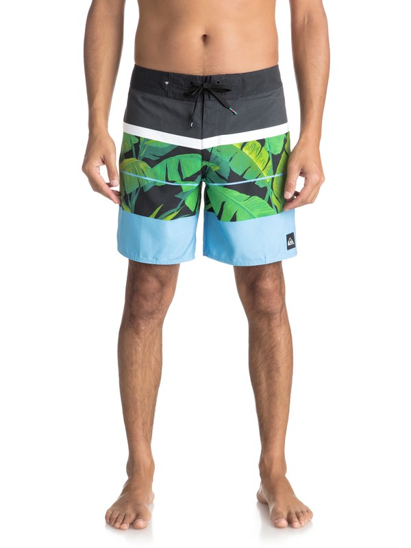 "0 Slab Island 17"" - Board Shorts for Men Black EQYBS03931 Quiksilver"