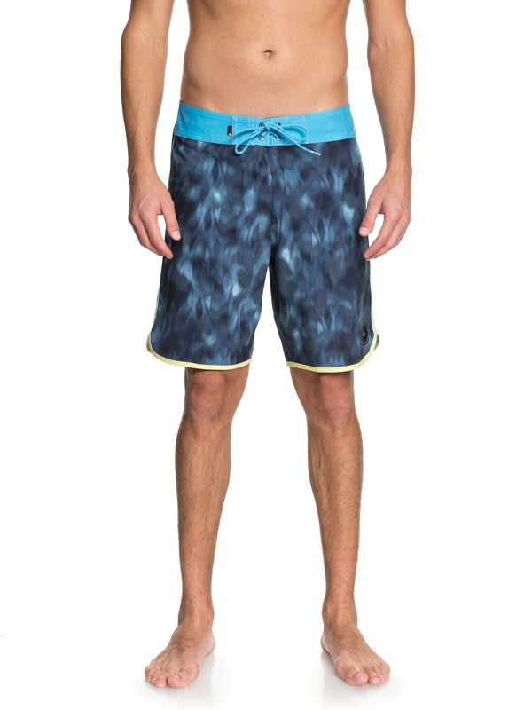 """0 Men  Recon Highline de 19"""" Boardshorts Azul EQYBS03943 Quiksilver"""