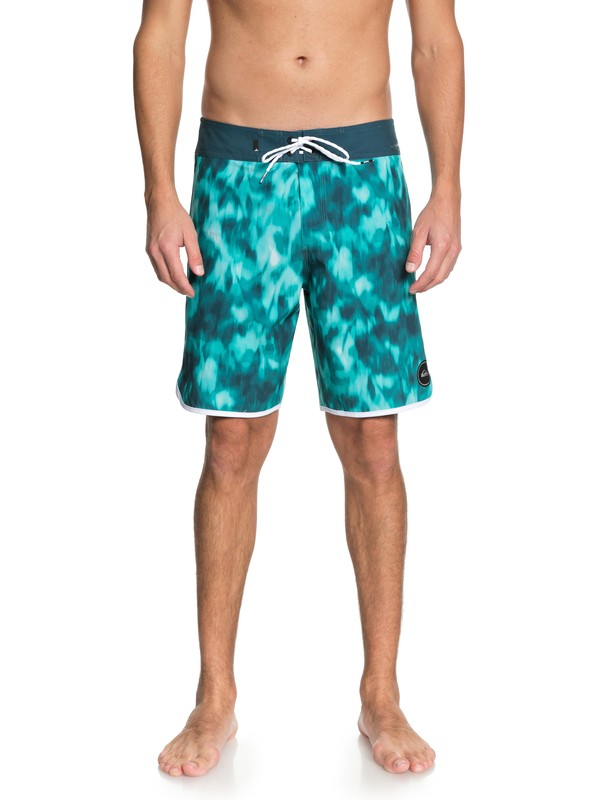 "0 Highline Recon 19"" Boardshorts Blue EQYBS03943 Quiksilver"