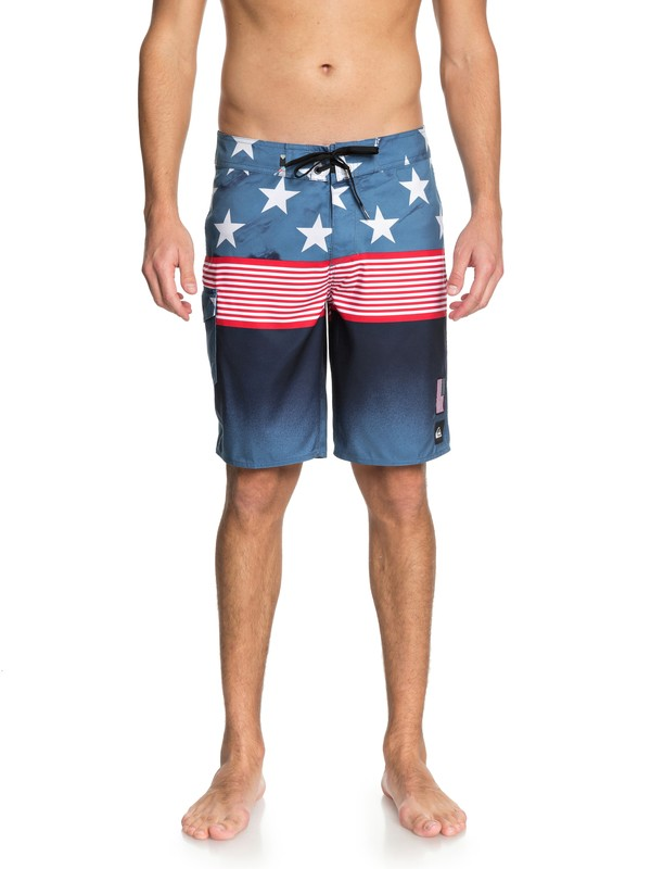 "0 Division Independent 20"" - Boardshorts Blue EQYBS03947 Quiksilver"