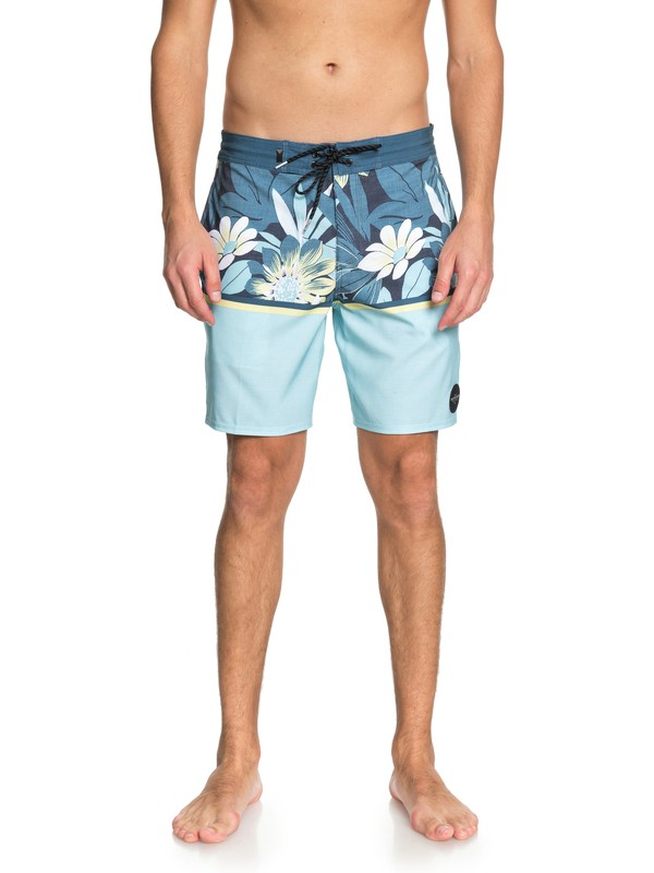 "0 Country Vibes 18"" - Beach Shorts Blue EQYBS03962 Quiksilver"