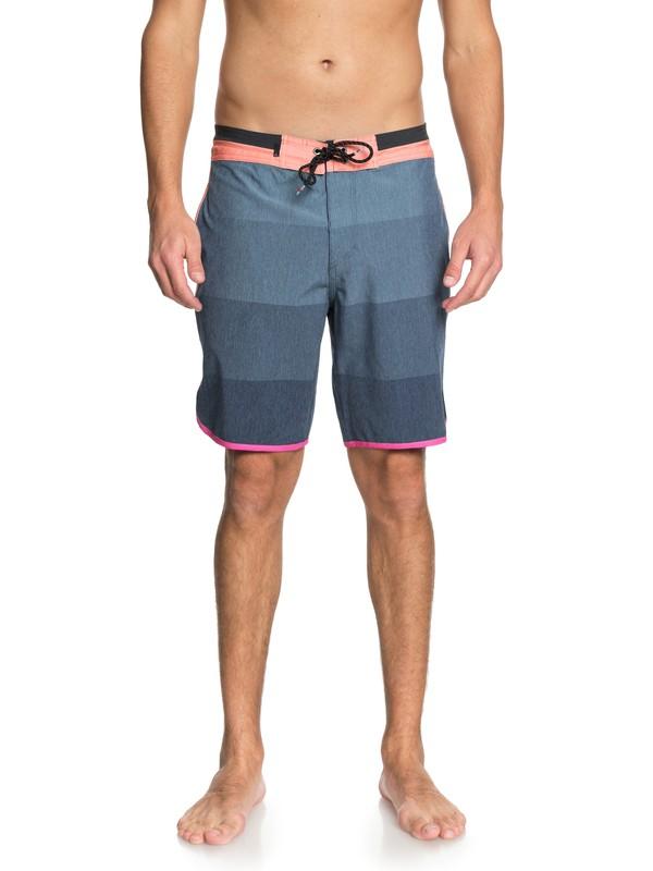 """0 Shorts de Playa Vista de 19"""" Azul EQYBS03964 Quiksilver"""