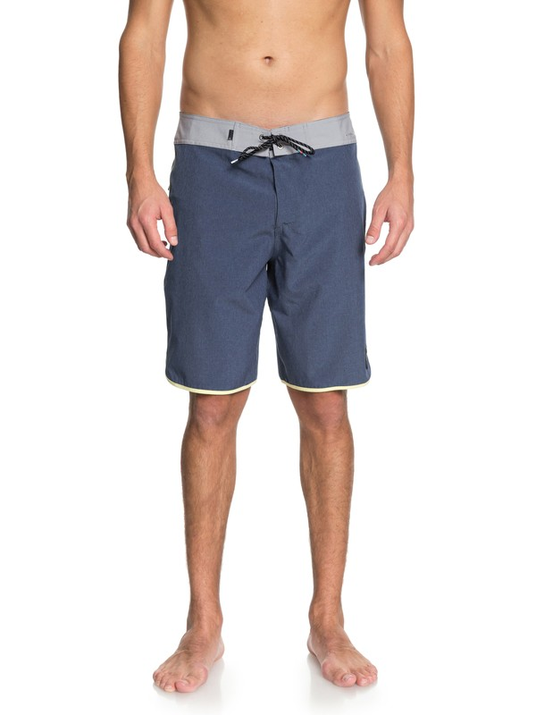 """0 Highline Scallop 20"""" - Boardshorts Blue EQYBS03974 Quiksilver"""