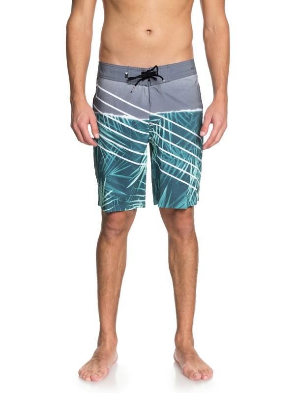 "0 Highline Palm Slash 19"" - Boardshorts Green EQYBS03975 Quiksilver"