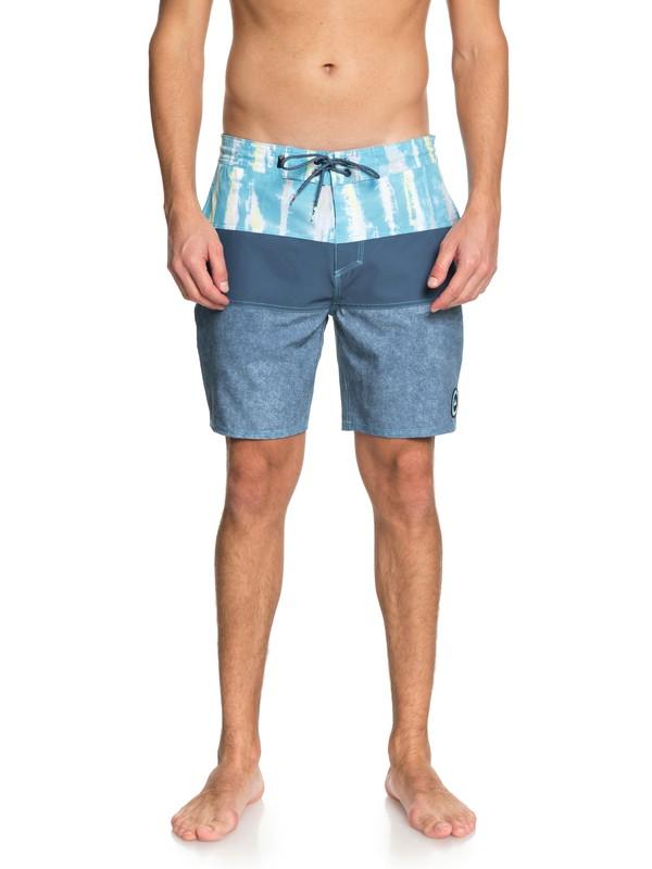 "0 Fortune 18"" Beach Shorts Blue EQYBS03978 Quiksilver"