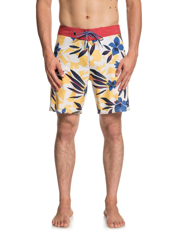 """0 Highline Variable 18"""" - Board Shorts White EQYBS03996 Quiksilver"""