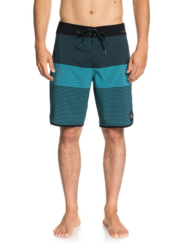 "0 Highline Tijuana Scallop 20"" Boardshorts Blue EQYBS03998 Quiksilver"