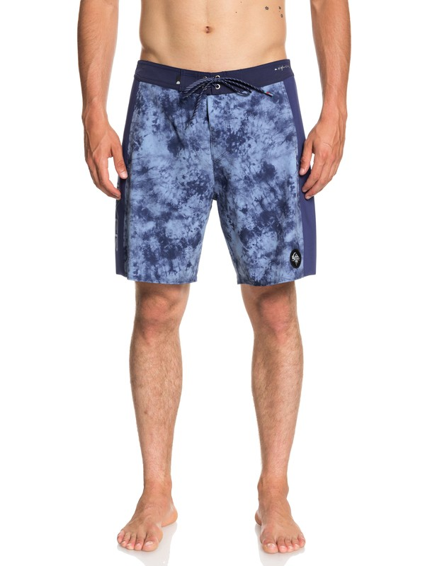 "0 Highline Omni Arch 18"" Boardshorts Blue EQYBS04012 Quiksilver"