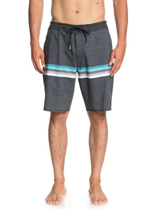 "0 Seasons 20"" Beach Shorts Black EQYBS04021 Quiksilver"
