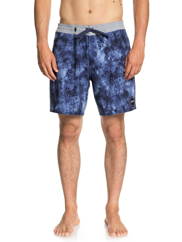 "0 Baja Acid 18"" - Beach Shorts for Men Blue EQYBS04023 Quiksilver"