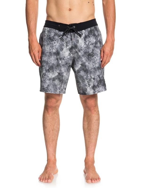 "0 Baja Acid 18"" Beach Shorts Black EQYBS04023 Quiksilver"