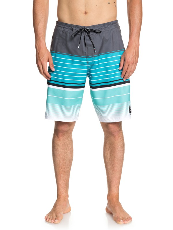 "0 Swell Vision 20"" Beach Shorts Black EQYBS04037 Quiksilver"