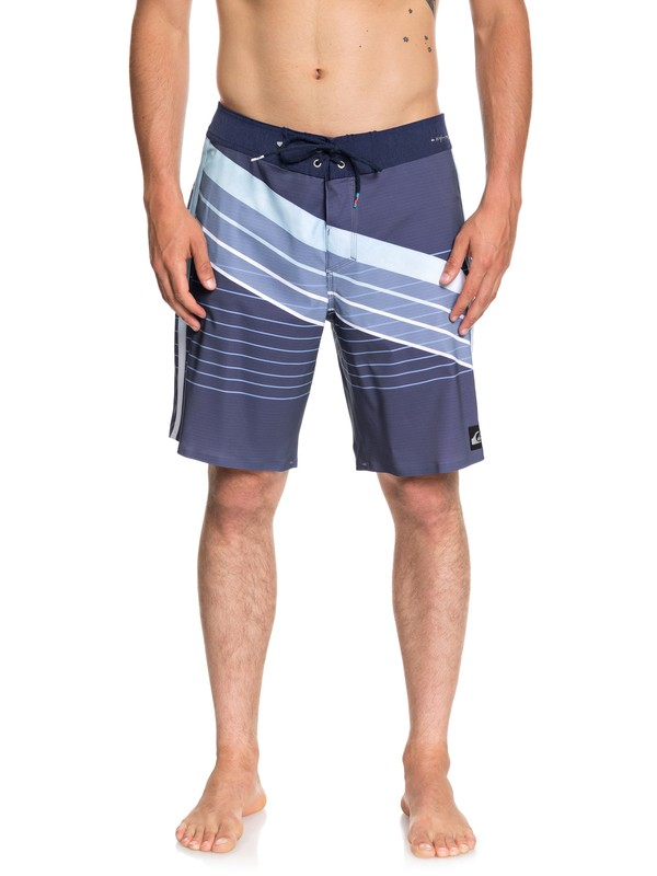 "0 Highline Core Slash 19"" Boardshorts Blue EQYBS04041 Quiksilver"
