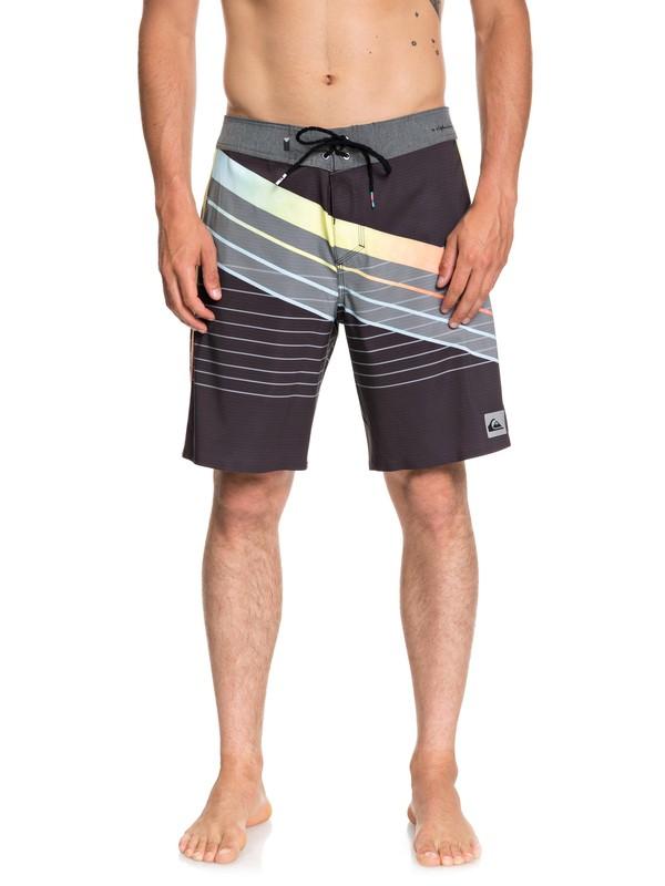 "0 Highline Core Slash 19"" Boardshorts Black EQYBS04041 Quiksilver"