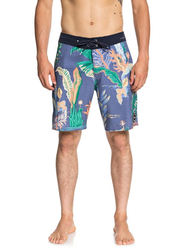 """0 Highline Variable 19"""" Boardshorts Blue EQYBS04048 Quiksilver"""