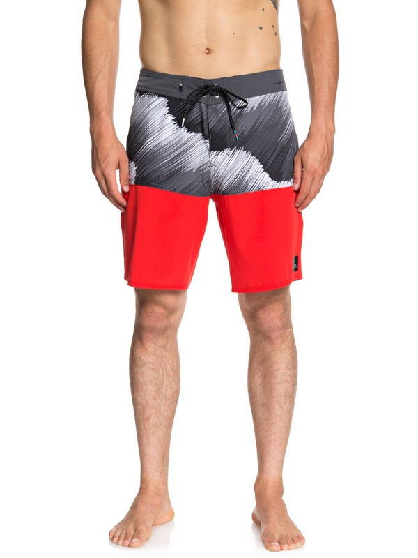 "0 Highline Typhoon 19"" Boardshorts Black EQYBS04049 Quiksilver"