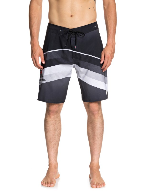 "0 Highline Slab 20"" Boardshorts Black EQYBS04050 Quiksilver"