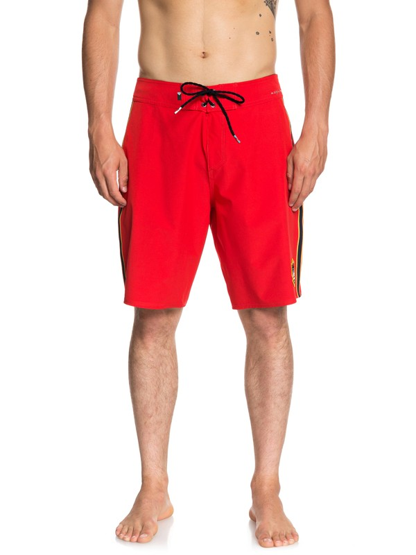 "0 Highline Hawaii 20"" Boardshorts Red EQYBS04052 Quiksilver"