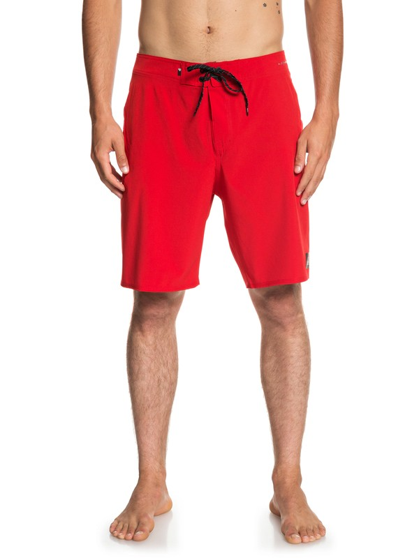 "0 Highline Kaimana 20"" Boardshorts Red EQYBS04072 Quiksilver"