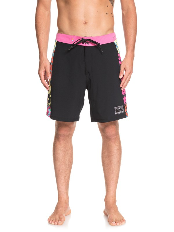 "0 Highline Arch Pop 18"" Boardshorts Black EQYBS04078 Quiksilver"