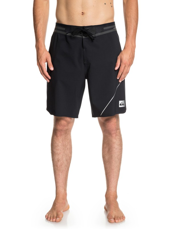 "0 Highline New Wave Pro 19"" Boardshorts Black EQYBS04079 Quiksilver"