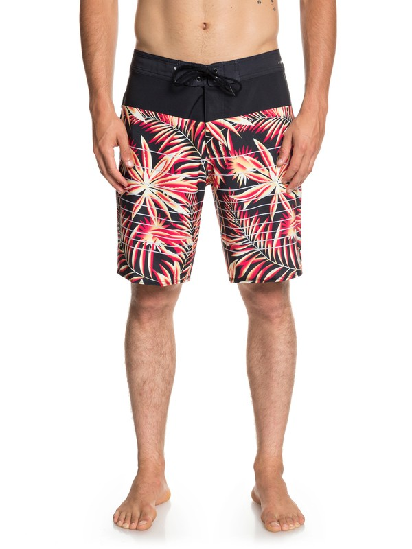 """0 Highline Drained Out 19"""" - Board Shorts for Men Black EQYBS04082 Quiksilver"""