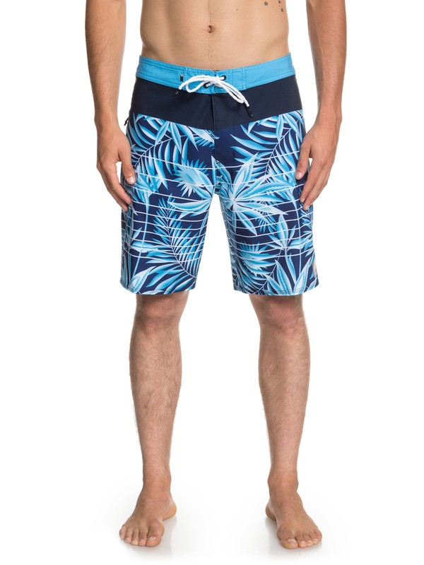 "0 Highline Drained Out 19"" - Board Shorts for Men Purple EQYBS04082 Quiksilver"