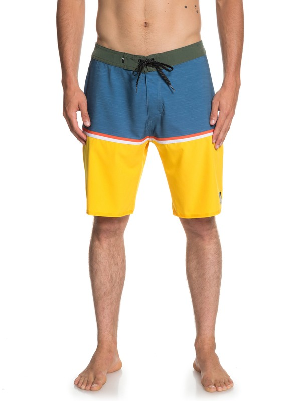 """0 Highline Division 20"""" Boardshorts Blue EQYBS04083 Quiksilver"""