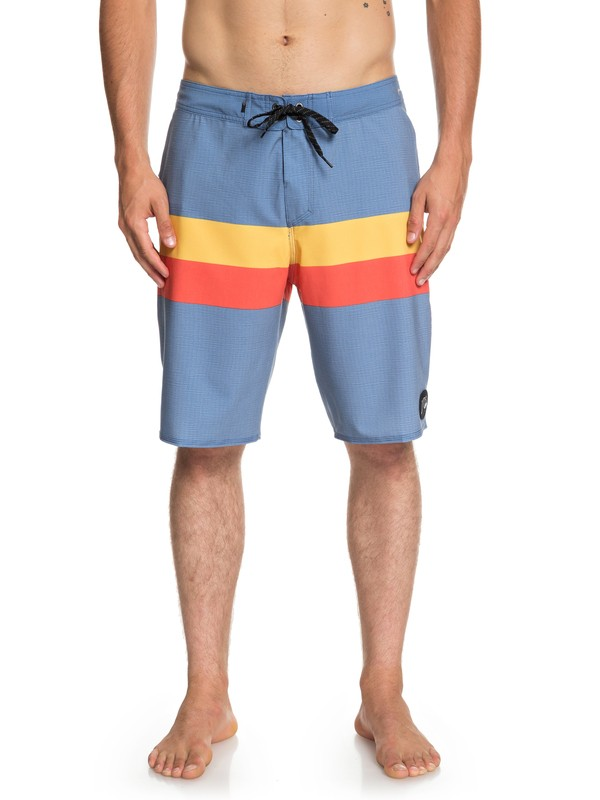 "0 Highline Seasons 20"" Boardshorts Blue EQYBS04085 Quiksilver"