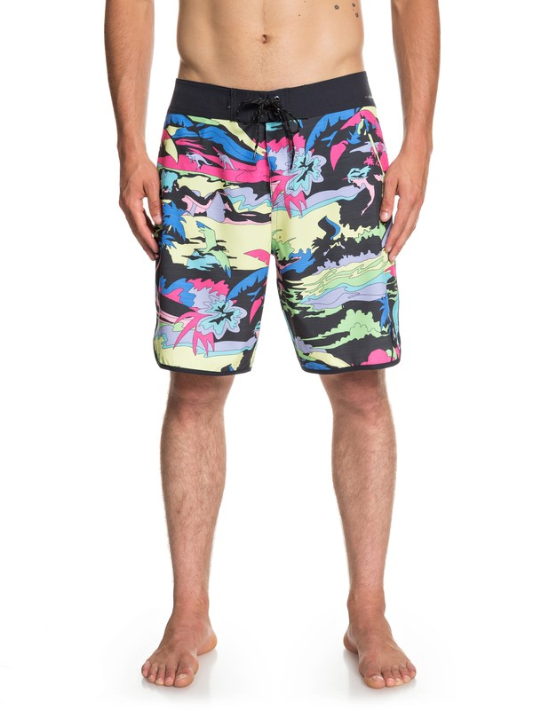 "0 Highline Feelin Fine 19"" Boardshorts Black EQYBS04087 Quiksilver"