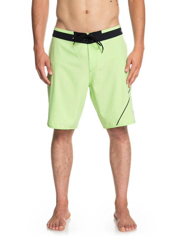 "0 Highline New Wave 20"" - Board Shorts for Men Green EQYBS04088 Quiksilver"