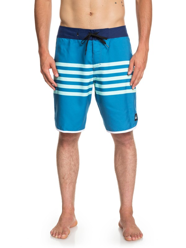 "0 Everyday Grass Roots 20"" Boardshorts Blue EQYBS04096 Quiksilver"