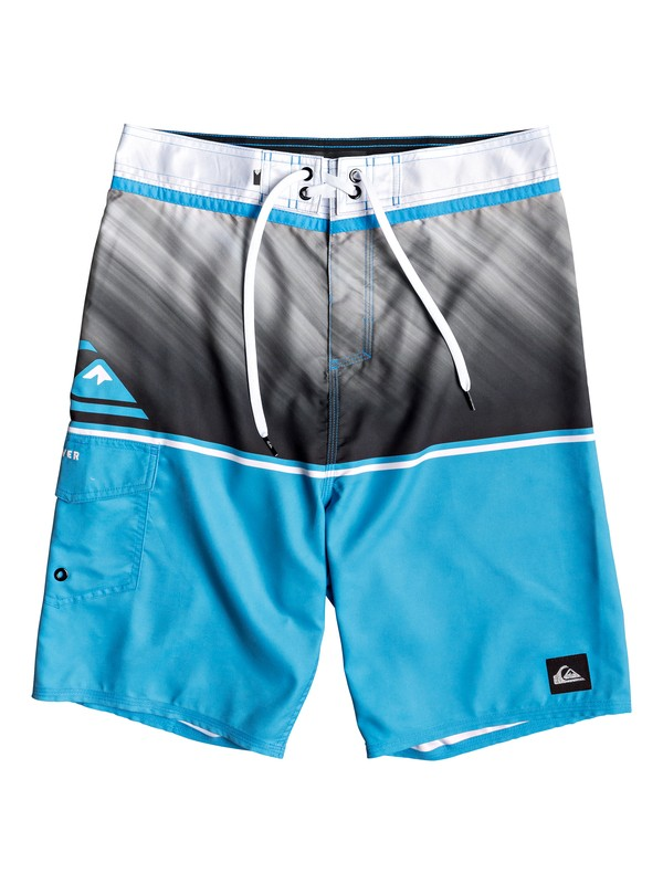 "0 Everyday Division 20"" - Board Shorts for Men Blue EQYBS04097 Quiksilver"