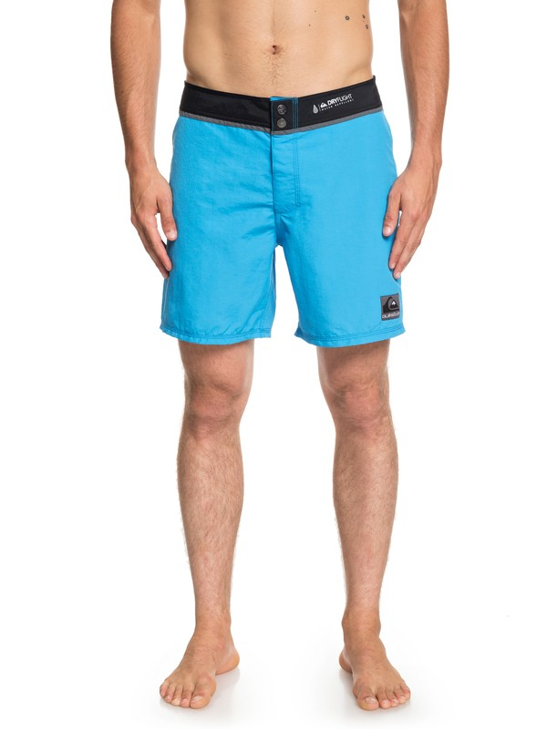 "0 Solid Snap Vee 17"" - Board Shorts for Men Blue EQYBS04098 Quiksilver"