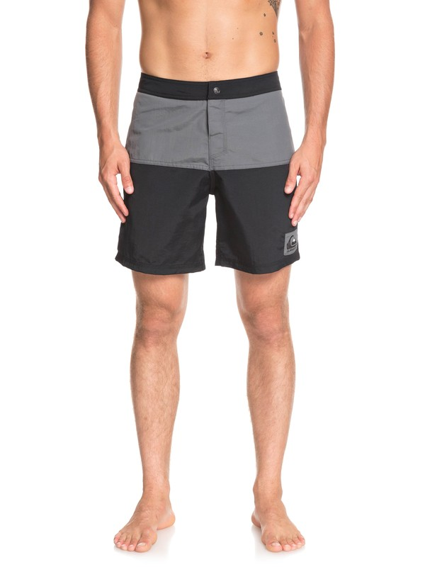 "0 Local Tribe 18"" Boardshorts Black EQYBS04099 Quiksilver"