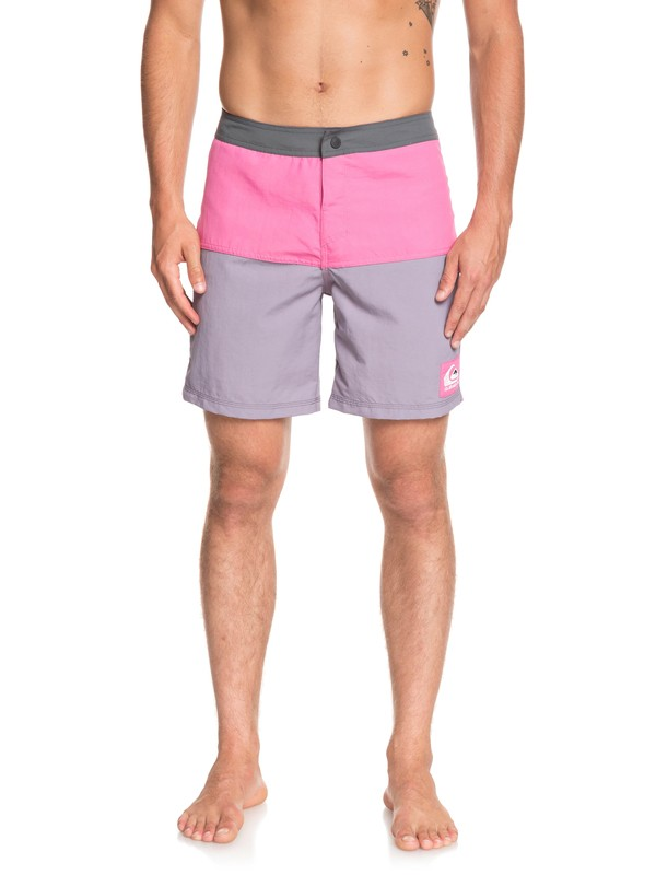 """0 Local Tribe 18"""" Boardshorts Black EQYBS04099 Quiksilver"""