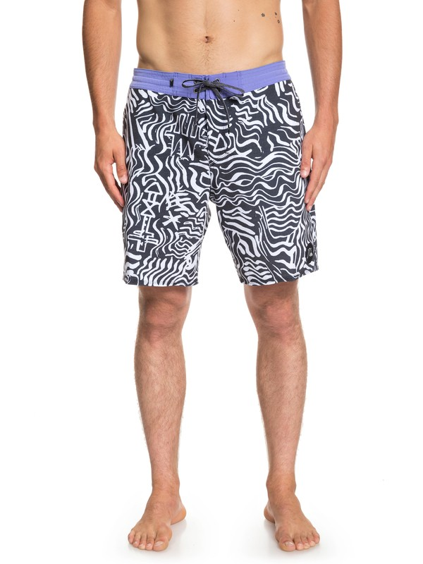 "0 Secret Ingredient 18"" Beachshorts White EQYBS04101 Quiksilver"