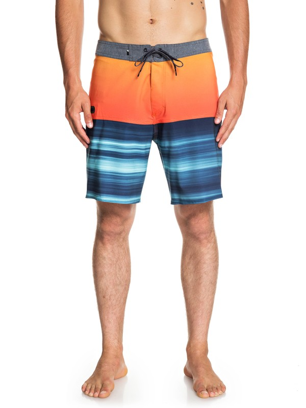 "0 Highline Hold Down 18"" - Board Shorts for Men Orange EQYBS04111 Quiksilver"