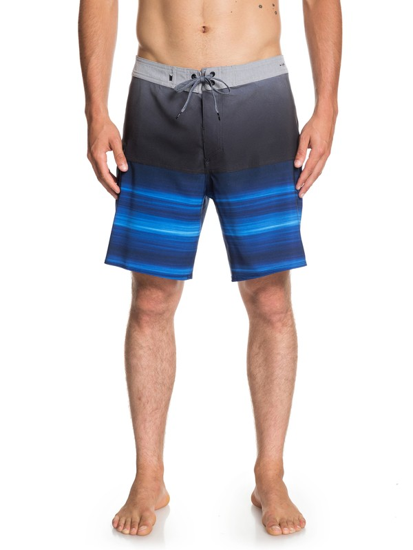 """0 Highline Hold Down 18"""" - Board Shorts for Men Purple EQYBS04111 Quiksilver"""