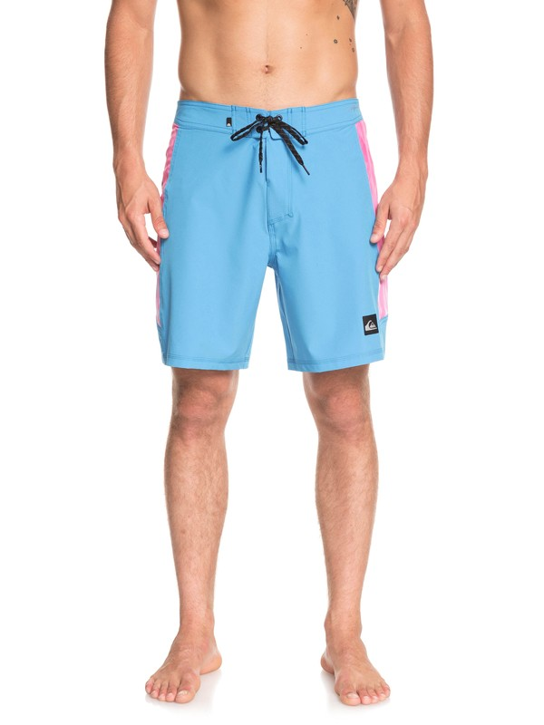 """0 Highline Fade Arch 18"""" Boardshorts Blue EQYBS04112 Quiksilver"""
