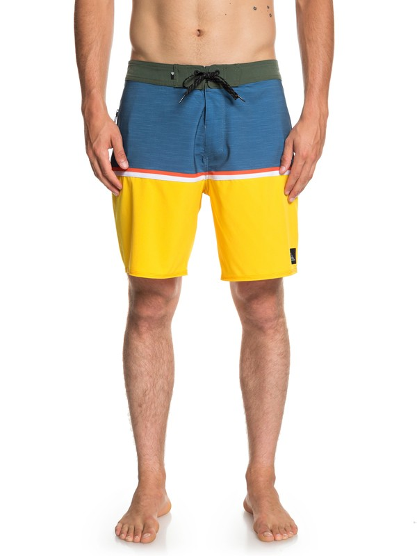 "0 Highline Division 18"" - Board Shorts for Men Blue EQYBS04113 Quiksilver"