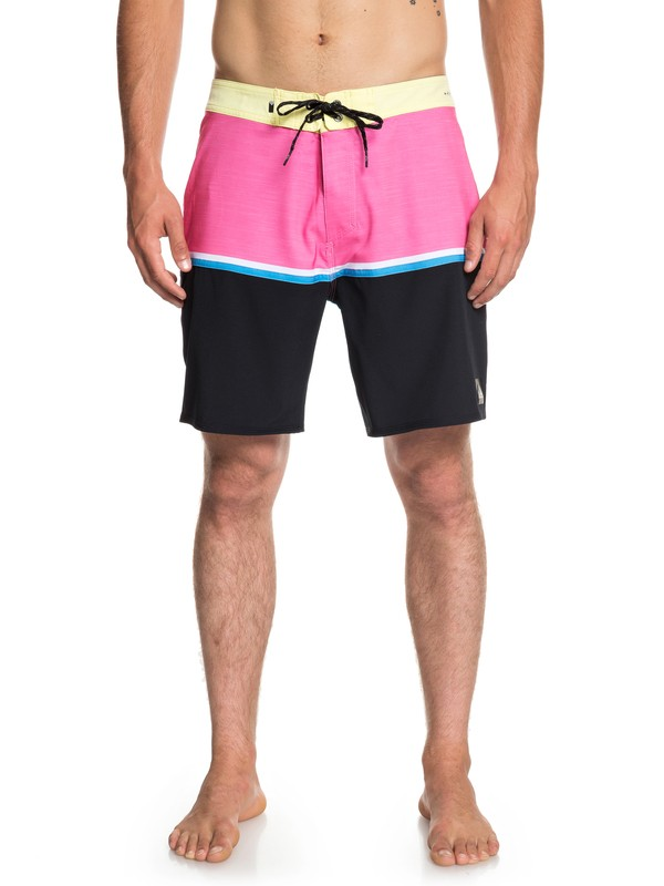 "0 Highline Division 18"" - Board Shorts for Men Yellow EQYBS04113 Quiksilver"