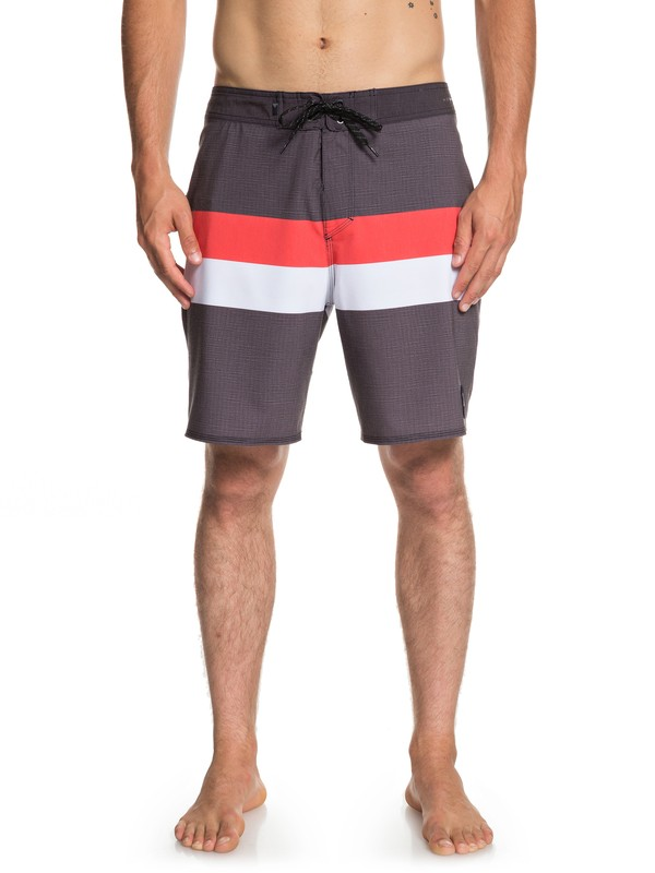 "0 Highline Seasons 18"" - Board Shorts for Men Black EQYBS04114 Quiksilver"