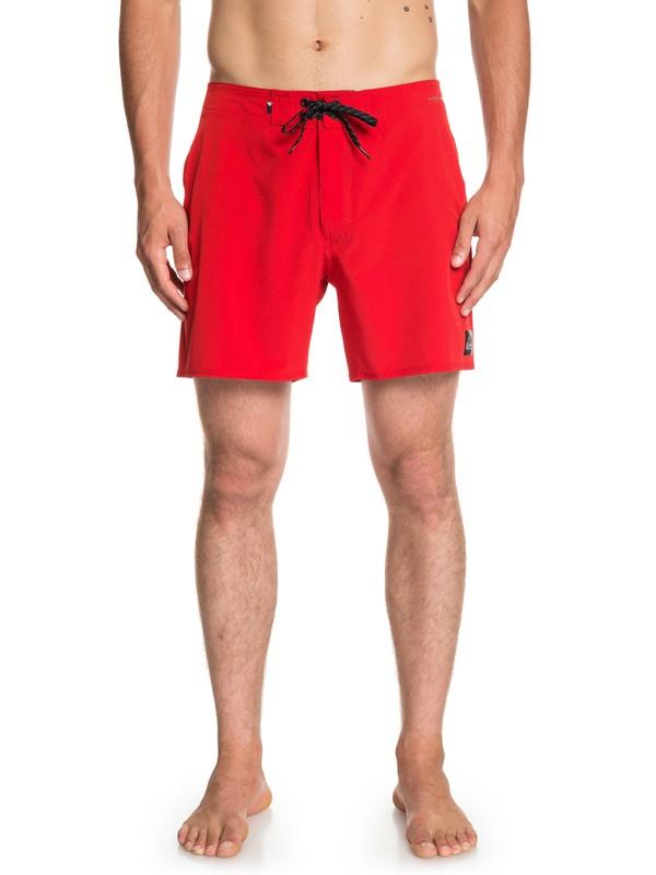 """0 Highline Kaimana 16"""" - Board Shorts for Men Red EQYBS04117 Quiksilver"""
