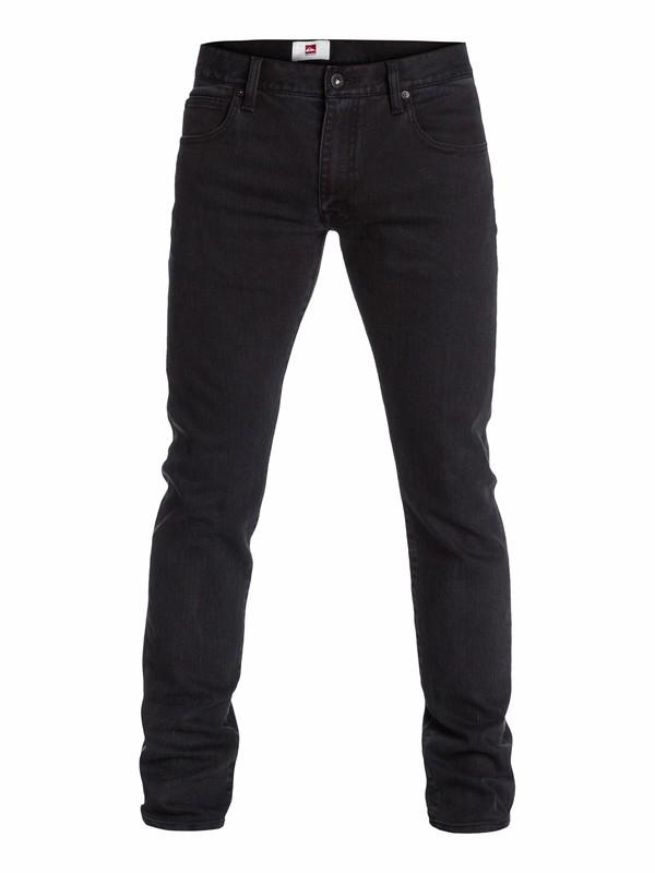 "0 Zeppelin Black Skinny Fit Jeans, 32"" Inseam  EQYDP03000 Quiksilver"