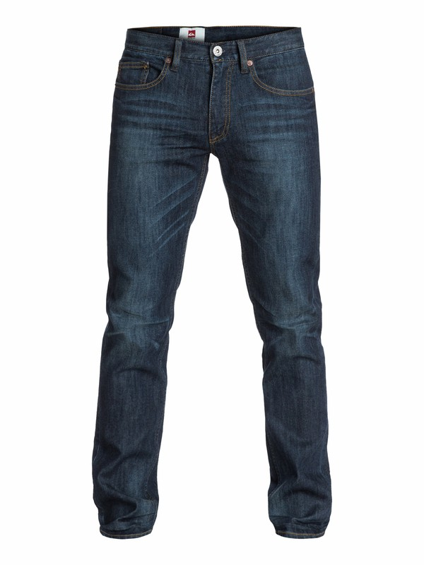 "0 Distorsion Dark Vintage Slim Fit Jeans, 32"" Inseam  EQYDP03004 Quiksilver"