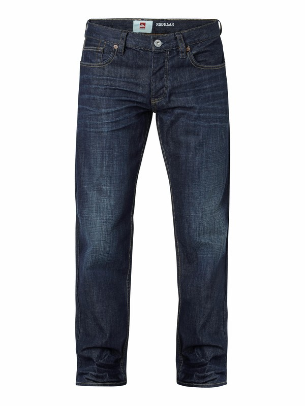 "0 Sequel Regular Fit Jeans, 32"" Inseam  EQYDP03012 Quiksilver"