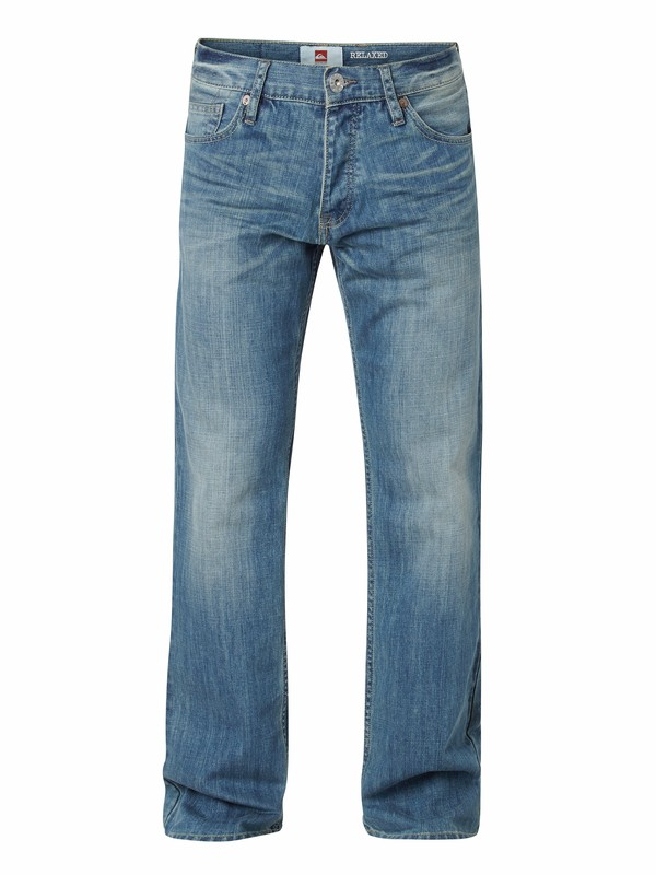 "0 Buster Vintage Relaxed Fit Jeans, 32"" Inseam  EQYDP03017 Quiksilver"