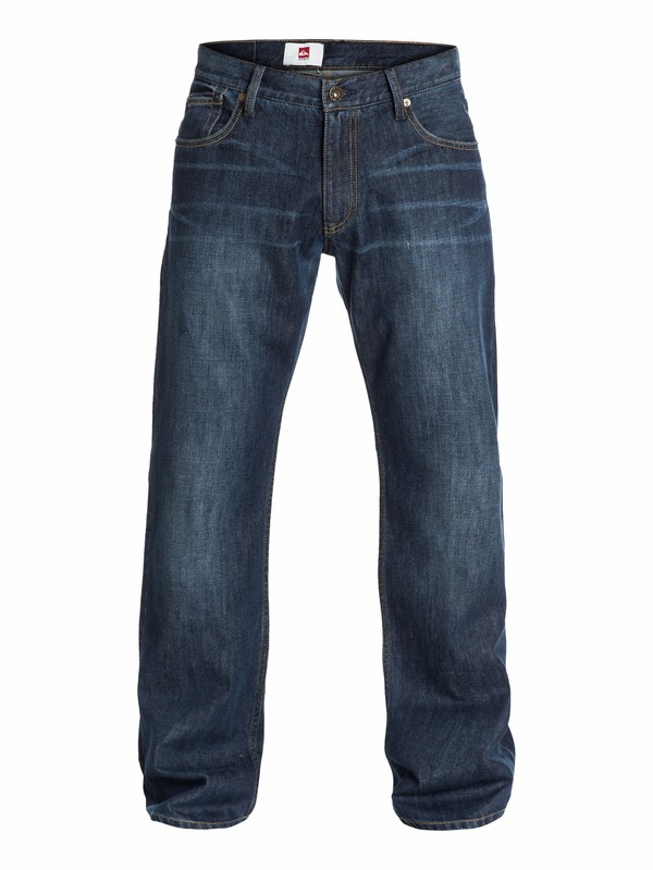 """0 Buster Dark Relaxed Fit Jeans, 34"""" Inseam  EQYDP03036 Quiksilver"""