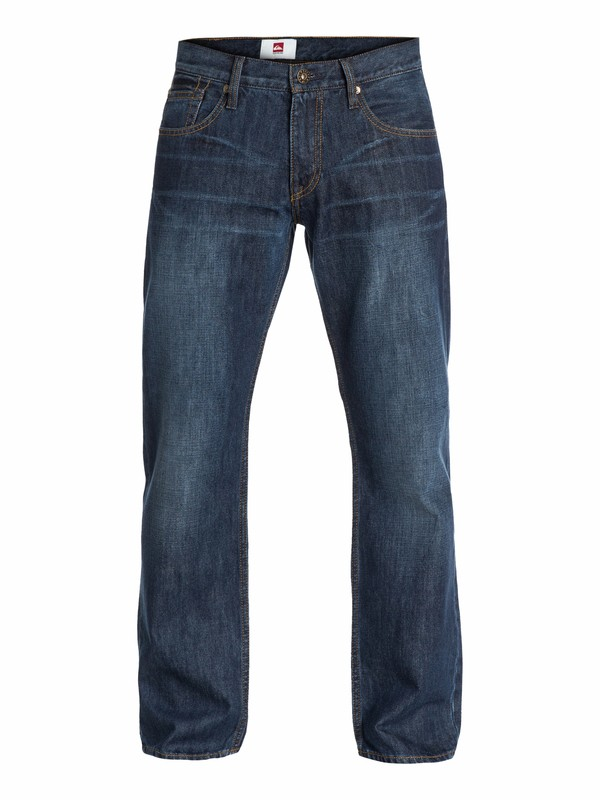 "0 Sequel Aged Regular Fit Jeans, 30"" Inseam  EQYDP03044 Quiksilver"